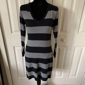 Like new! Old Navy striped sweater dress